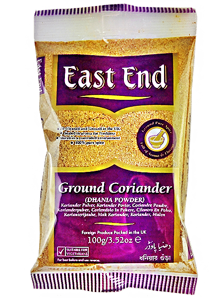 extra čistý mletý koriander