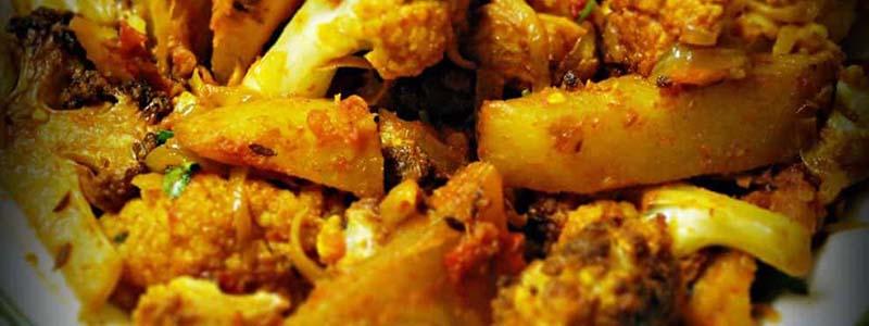 karfiol a zemiaky