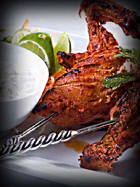 www.indickekorenie.sk grilované kura