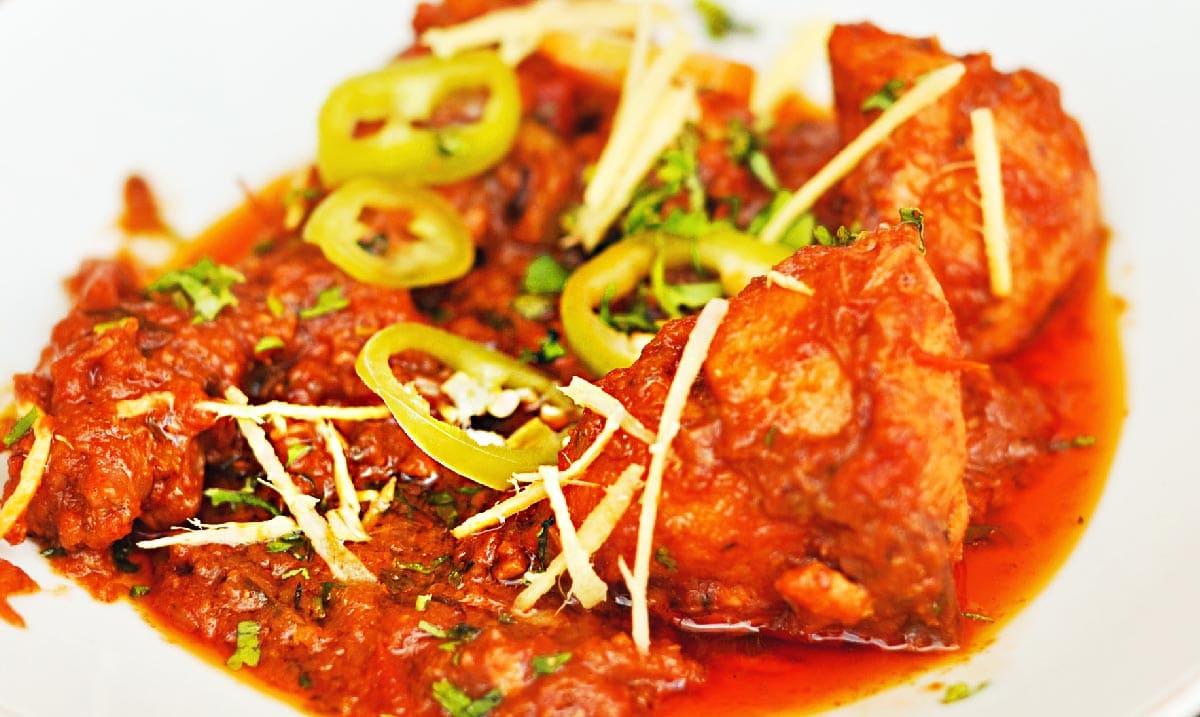 indické jedlo recept