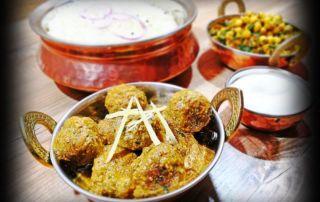 indické jedlo